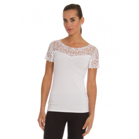 Arianne Lace Top Tee