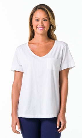 Tori Richard Pima Knit Ashley Tee