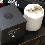 Thompson Ferrier Alligator Boxed Candle - White