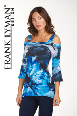 Frank Lyman Cold Shoulder Tunic