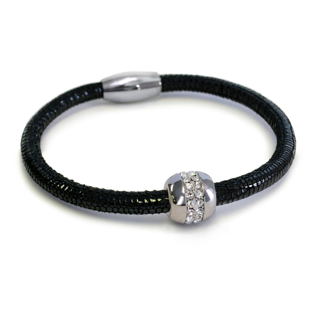 Liza Schwartz Single Snake Good Karma Bracelet