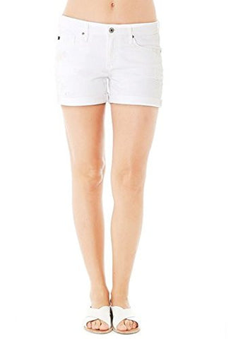 AG The Hailey White Restored Short