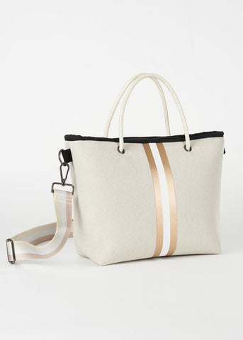 Haute Shore Ryan Mini Tote - Beige Linen