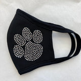 Get Lucky Mask-I (Heart) Paw Print