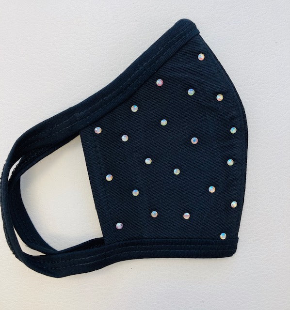 Get Lucky Mask - Rhinestones Light