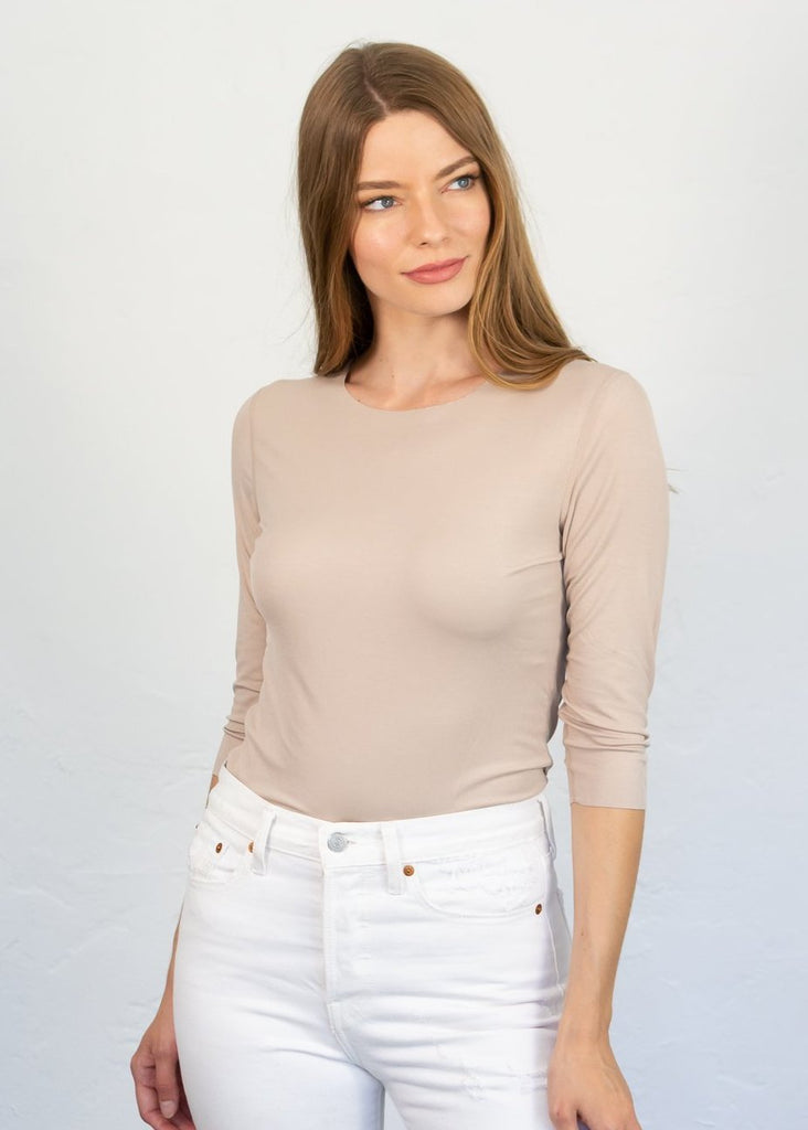 AMB Juliet 3/4 Sleeve Top