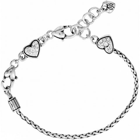Brighton ABC Heart Slide Bracelet
