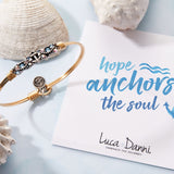 Luca + Danni Anchor Medley Bangle Bracelet