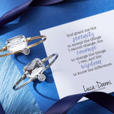 Luca + Danni Serenity Prayer Bangle Bracelet