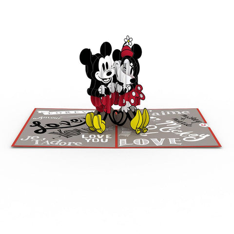 Lovepop Disney's Mickey and Minnie In Love 3D card