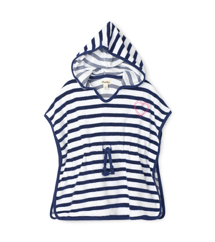Hatley Kids Nautical Stripe Terry Cover-up
