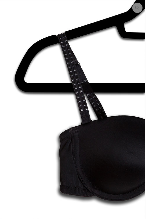 Strap-its Bra with Changeable Strap - Black Studs