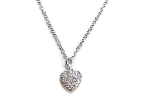 Liza Schwartz Delicate Heart Necklace