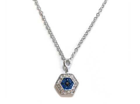 Liza Schwartz Delicate Evil Eye Necklace