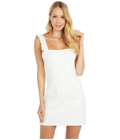 Show Me Your Mumu Ruthie Ruffle Dress - Pearly White