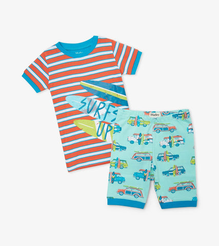 Hatley Kids Surf's Up Short PJ Set