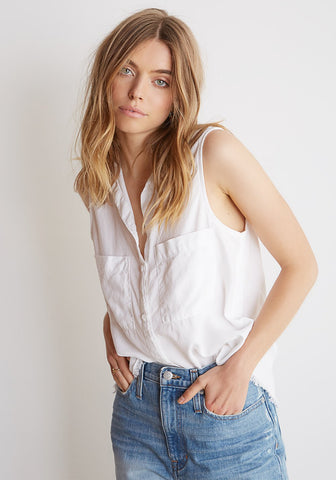 Bella Dahl Trimmed S/L Button Down