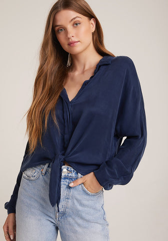 Bella Dahl Dolman Sleeve Tie Top