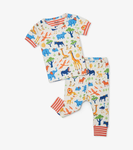 Hatley Kids Wild Safari Baby PJ Set