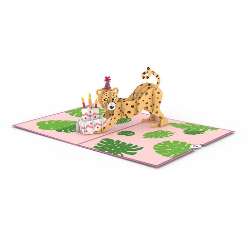 Lovepop Wild Birthday 3D card