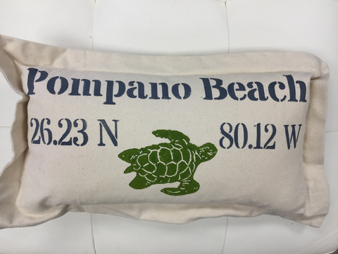 Lowcountry Linens Pompano Beach Pillow