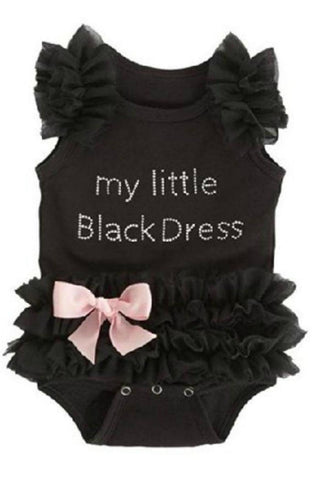 Ganz My Little Black Dress Onesie