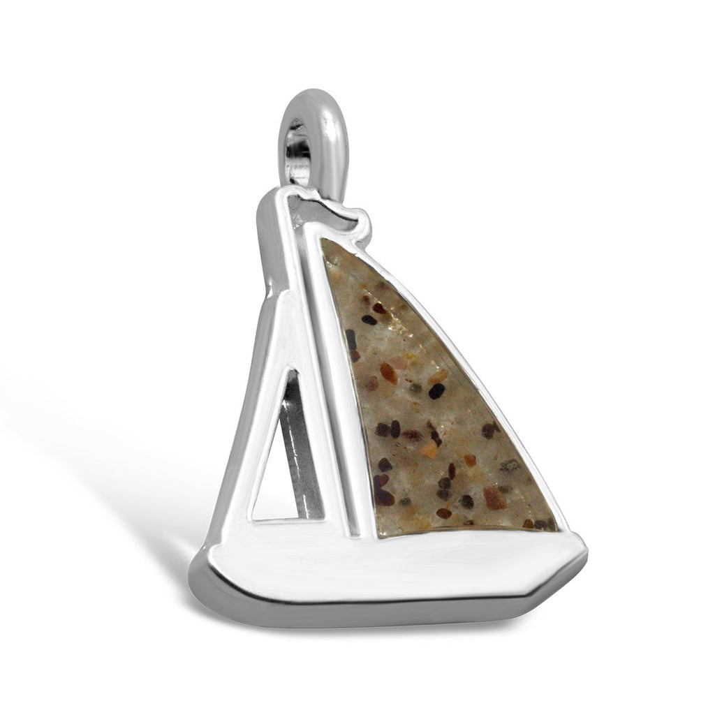 Dune Jewelry Beach Charm - Sailboat Shape