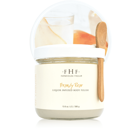 Farmhouse Fresh Brandy Pear Liquor Infused Body Polish