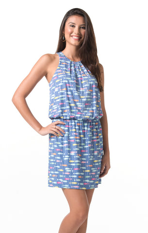 Tori Richard Take the Bait Fia Dress