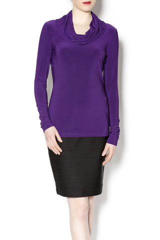 Joseph Ribkoff Long Sleeve Cowl Neck