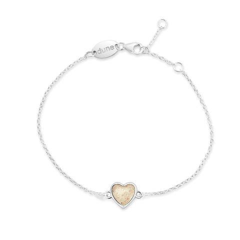 Dune Jewelry Delicate Destinations Heart Anklet
