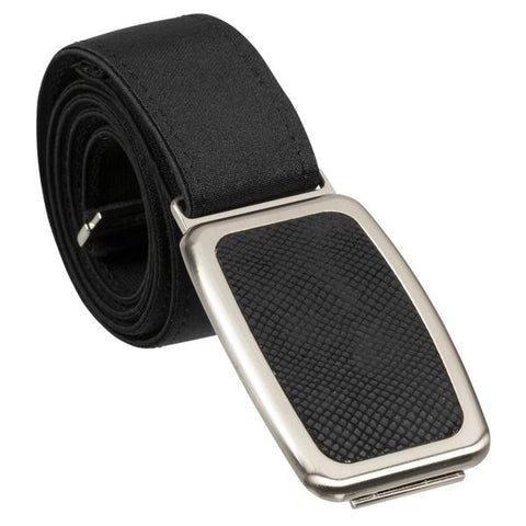 Hipsi Adjustable Belt & Flat Buckle - Black