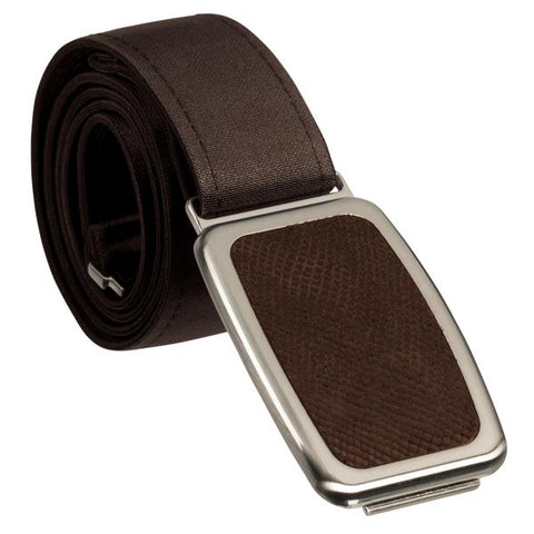 Hipsi Adjustable Belt & Flat Buckle - Brown