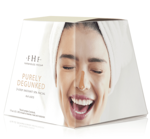 Farmhouse Fresh Purely Degunked 3-step Instant Spa Facial