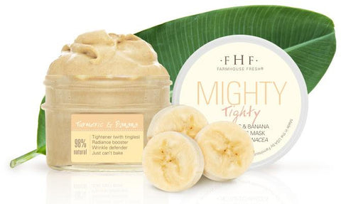 Farmhouse Fresh Mighty Tighty® Turmeric & Banana Tightening Mask