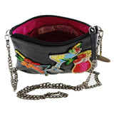 Mary Frances Drinks on Me Embellished Leather Cocktails Crossbody Mini Handbag