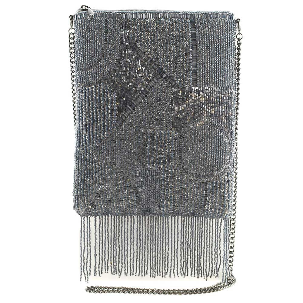 Mary Frances Can't Resist Fringe Mini Crossbody