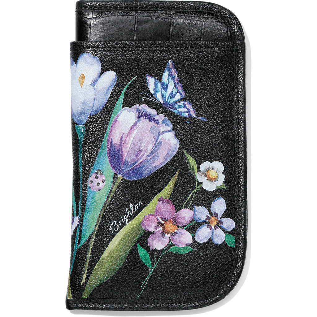 Brighton Noir Jardin Double Eyeglass Case
