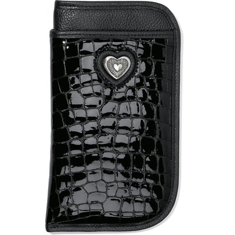 Brighton Bellissimo Heart Double Eyeglass Case