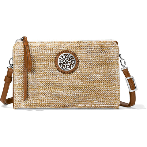 Brighton Contempo Straw Pouch