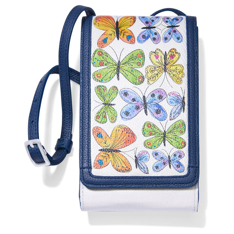 Brighton Garden Wings Phone Organizer