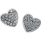 Brighton Chara Heart Post Earring