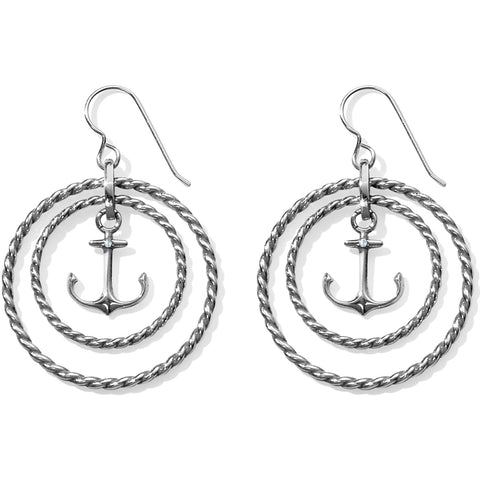 Brighton Bluewater Floating Anchor Earring