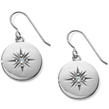 Brighton Coastline Compass French Wire Earrings