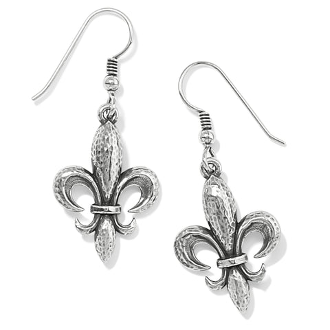 Brighton Ferrara Fleur De Lis French Wire Earrings