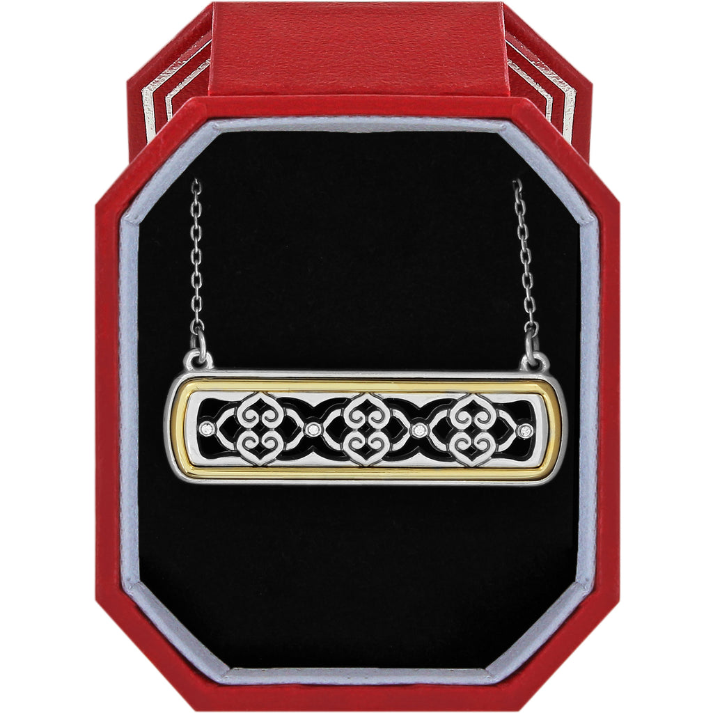 Brighton Intrigue Bar Reversible Necklace Gift Box