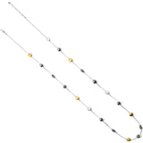 Brighton Mediterranean Gray Pearl Long Necklace