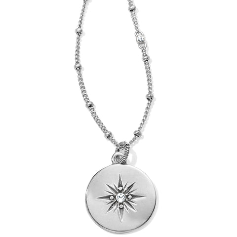 Brighton Coastline Compass Petite Necklace