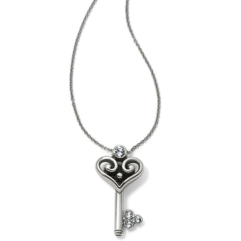 Brighton Alcazar Heart Key Necklace