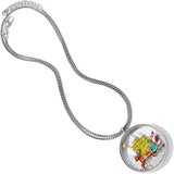 Brighton Santa's Sleigh Shaker Convertible Necklace